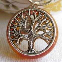 Tree Of Life Pendant, Tree Necklace